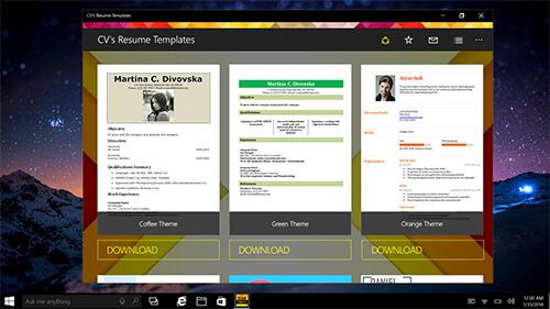 cvs-resume-templates 7