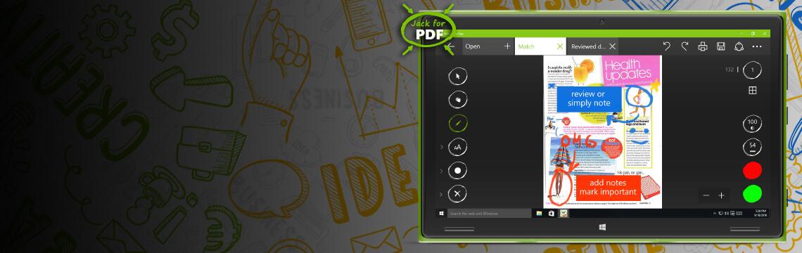 Jack for PDF